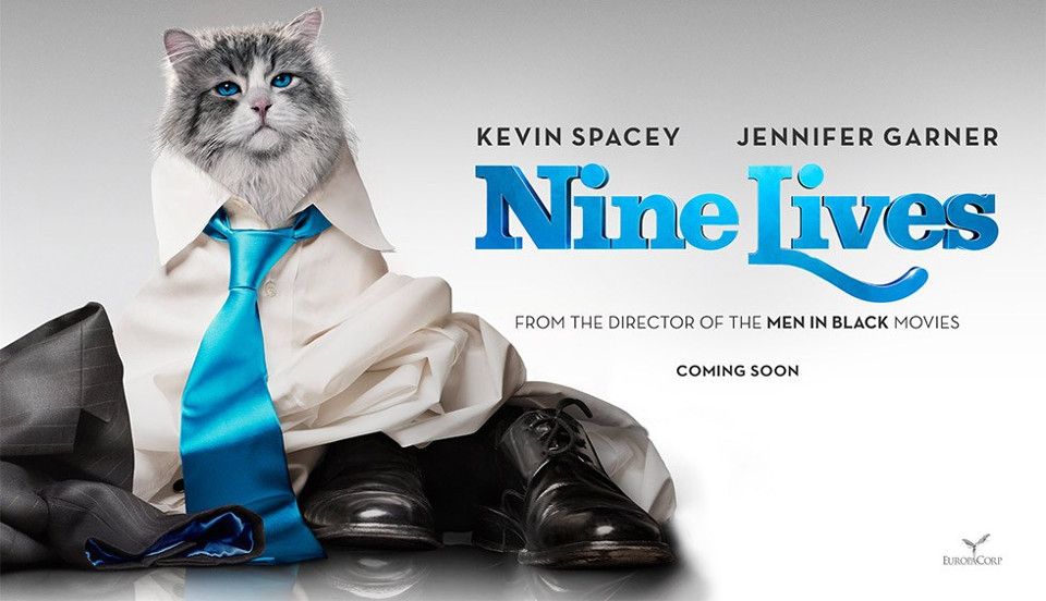 Kevin Spacey Becomes A Cat In His New Movie!