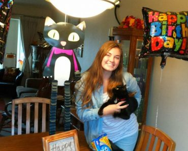 Cat Missing For Months Returns Home On Owner's Birthday