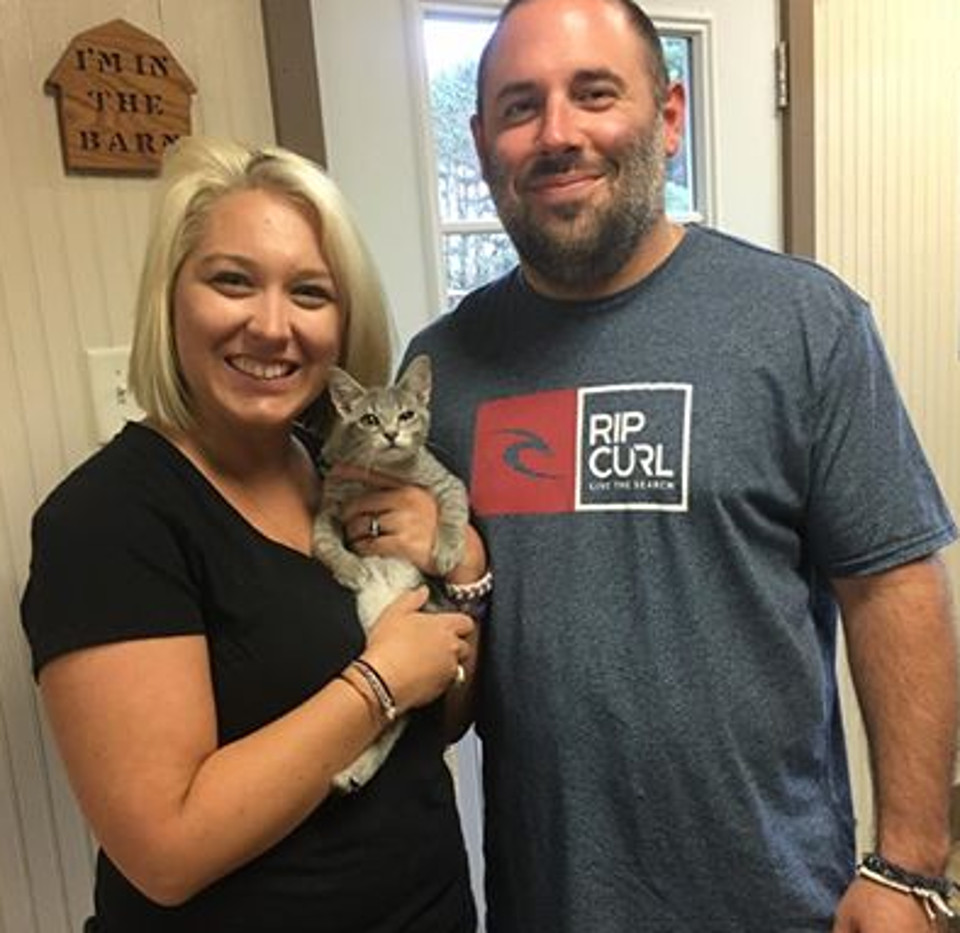 Scooter was adopted