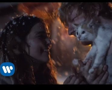 Ed Sheeran Slow Dances in the Snow and Cuddles A Kitten in 'Perfect' Video
